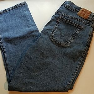 Levi's 550 Classic Relaxed Bootcut MOM Jean's 16M